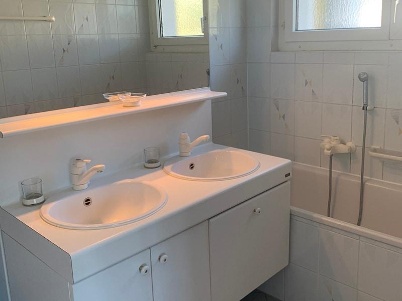 Salle de bains appartement St Prex - Avant rénovation